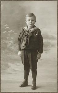 Portret van Willem Abraham Baud (1909-1986)