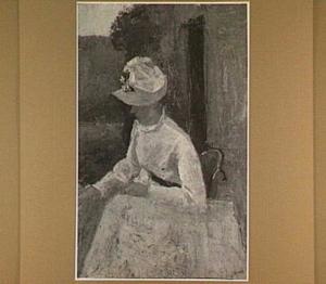 Dame in het wit (Janet Hall)