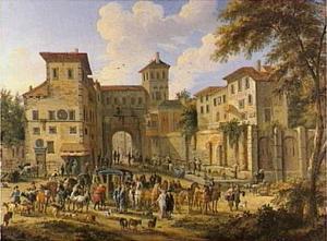 Italiaans stadsgezicht