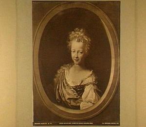 Portret van Susanna Wilhelmina Brandt (1687-1759)