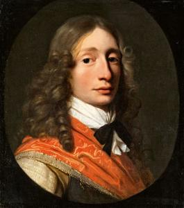 Portret van Moritz zu Solms-Hungen (1622-1678)