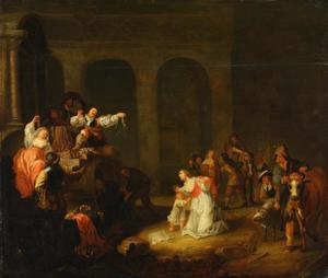 Plunderen scene