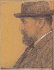 Portret van H.W. Mesdag
