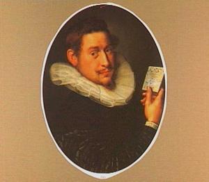 Portret van Bartelemeo Moor op de leeftijd van 27 jaar