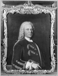 Portret van Epo Sjuck van Burmania (1698-1775)