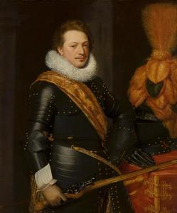 Portret van een man, mogelijk Johan Wolfert van Brederode (1599-1655) of  Walraven IV van Brederode (?-1620)