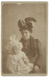 Portret van Elisabeth Johanna Hardenberg (1867-1956) en Jan de Lavieter (1900-1981)