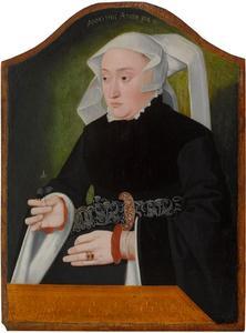 Portret van een 34-jarige vrouw