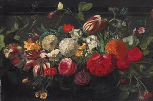 Guirlande diverse bloemen