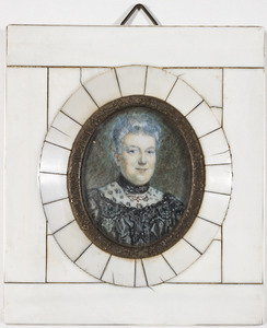 Portret van Henriette Louise Hauschildt (1858-1931)