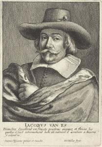Portret van Jacob Foppens van Es (1596-1666)