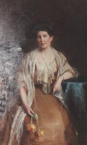 Portret van Jkvr. Alpheda Louise Teding van Berkhout (1863-1959)