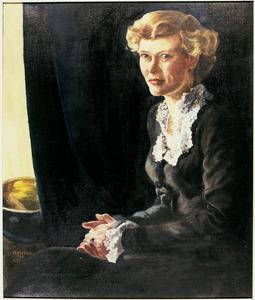 Portret van Geertrui Ankersmit (1926- )