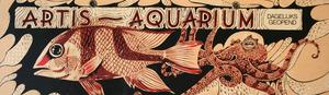 Artis-Aquarium-Tram-Affiche: vis en octopus