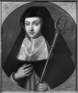 De H. Gertrudis, abdis