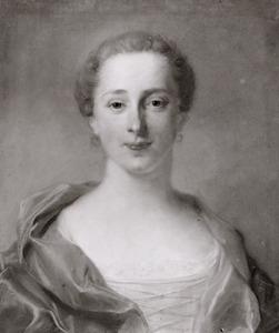 Portret van Frederika Louise van der Does van Noordwijk (1730-1788)