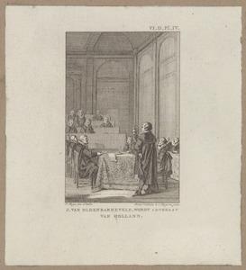 Johan van Oldenbarnevelt (1547-1619) wordt advocaat van Holland  (1586)