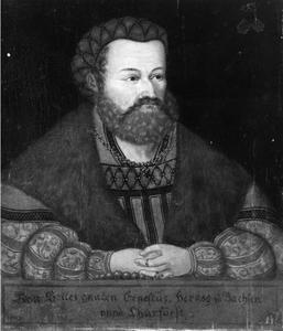 Portret van Ernst, Hertog van Saksen