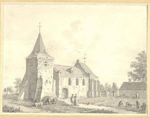 De kerk in Ommeren