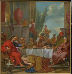 Maaltijd van Christus bij Simon de Farizeeër (Lucas 7:36-50)