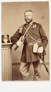 Portret van Saris Leonard Jacob Queysen (1821-1887)
