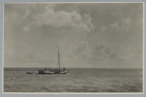 Zee met schip (Enkhuizen)