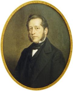 Portret van Frans Julius Johan van Heemstra (1811-1878)