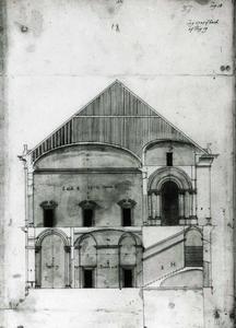 Villa Spinola di San Pietro: Lengtedoorsnede