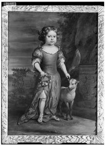 Portret van Trajectina Anna Elisabeth van Tuyll van Serooskerken (1675-1720)