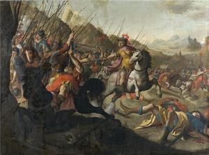 De Cimbren verslaan de Romeinen