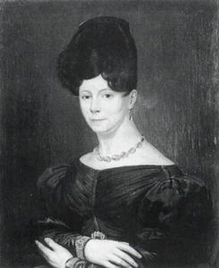 Portret van Agatha Sophia Gerardina van Hoey (1784-1856)