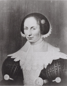 Portret van Geertruid Teding van Berkhout (1610-1636)