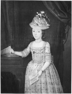 Portret van Catharina Maria Theodora van Staveren (1770-1827)