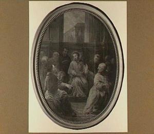 St. Eligius als leraar