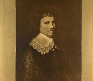 Portret van een man, waarschijnlijk Salomon van Schoonhoven (1617-1653)