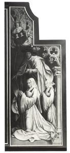 De H. Jacobus de Meerdere met Josina Mengiaert en haar dochter
