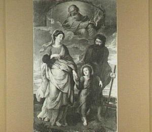 Terugkeer uit Egypte van de heilige familie