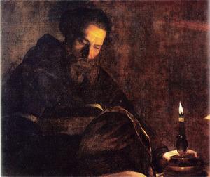 De lezende monnik