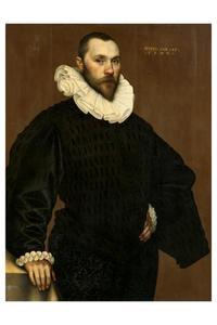 Portret van een man, 45 jaar oud