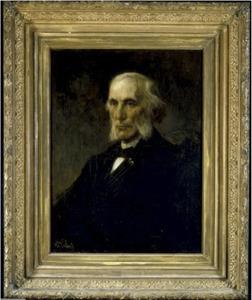 Portret van  J.W.R. (Jan Willem Reinier)Tilanus (1823-1914)