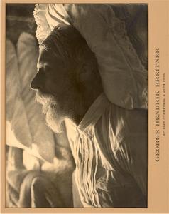 George Hendrik Breitner op zijn sterfbed