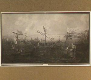 Vloot met Aatshertog Albert en Aartshertoging Isabella