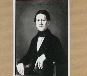 Portret van Dirk Merens (1801-1884))