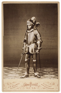 Portret van Alexander Hendrik Metelerkamp (1860-1918) als Jan van Nassau