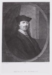 Portrait van Rembrandt