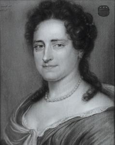 Portret van Adriana de Munck ( -1695)