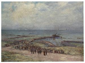Aankomst van Koningin Wilhelmina op 7 september 1916 op Vlieland