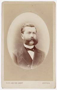 Portret van Johan Pieter van Reigersberg Versluys (1834-1879)