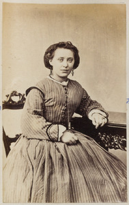 Portret van een vrouw uit familie Nuss