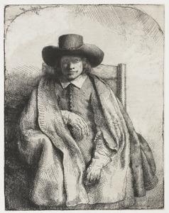 Portret van Clement de Jonghe (1624-1677)